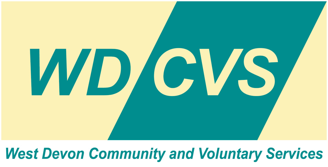 West Devon CVS logo and link